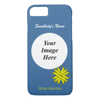 Yellow Clover Ribbon Template by Kenneth Yoncich iPhone 8/7 Case
