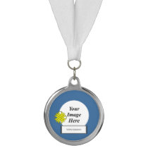 Yellow Clover Ribbon Template by Kenneth Yoncich Medal