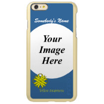Yellow Clover Ribbon Template Incipio Feather Shine iPhone 6 Plus Case