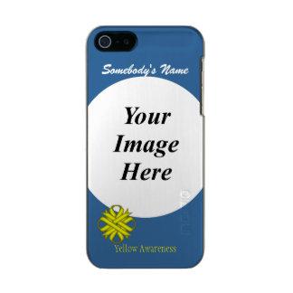 Yellow Clover Ribbon Template Incipio Feather® Shine iPhone 5 Case