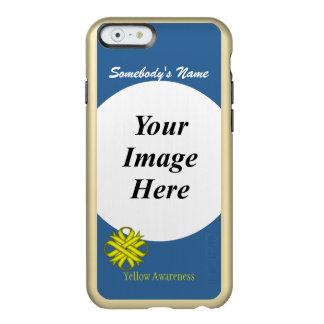 Yellow Clover Ribbon Template Incipio Feather® Shine iPhone 6 Case