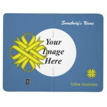 Yellow Clover Ribbon Template Journal