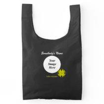 Yellow Clover Ribbon Template Reusable Bag