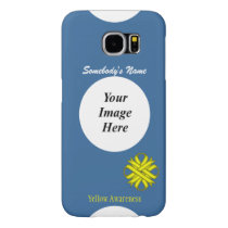 Yellow Clover Ribbon Template Samsung Galaxy S6 Case