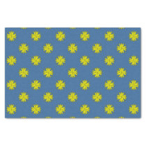 Yellow Clover Ribbon Tissue Paper