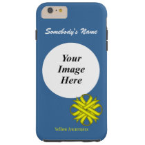 Yellow Clover Ribbon Tmpl by Kenneth Yoncich Tough iPhone 6 Plus Case