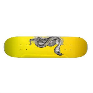 Yellow Cobra - Skate Board Deck