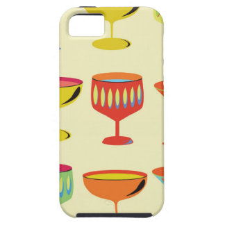 Yellow cocktail time iPhone SE/5/5s case