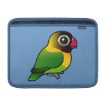 Yellow-collared Lovebird MacBook Air Sleeves