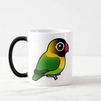 Yellow-collared Lovebird Magic Mug