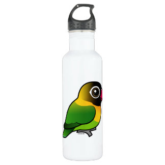 Yellow-collared Lovebird Stainless Steel Water Bottle