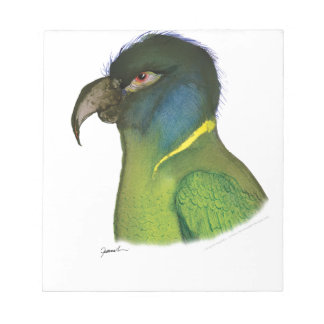 yellow collared macaw, tony fernandes notepad