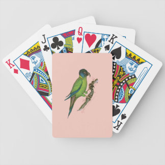 yellow collared macaw, tony fernandes.tif bicycle playing cards