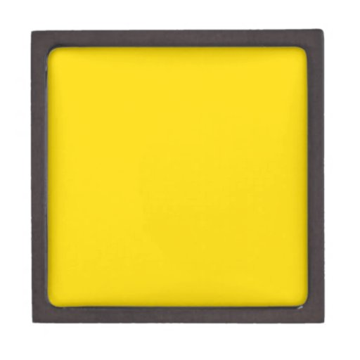 Yellow Color 3 inch Square Premium Gift Boxes