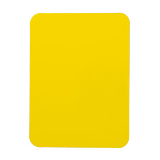 Yellow Color 3 x 4 inch Photo Rectangular Photo Magnet