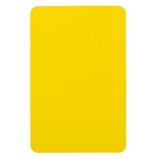 Yellow Color 4 x 6 inch Photo Rectangular Photo Magnet