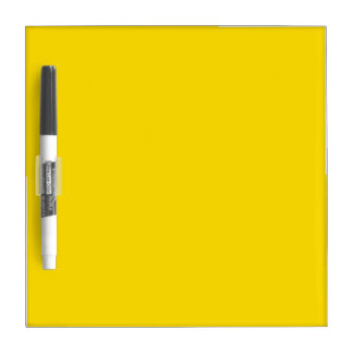 Yellow Color Small Dry Erase Board