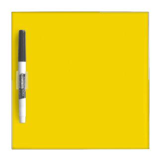 Yellow Color Small Dry-Erase Board