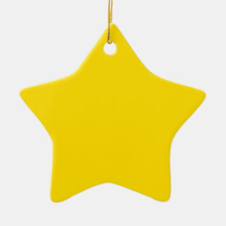 Yellow Color Star Ornaments