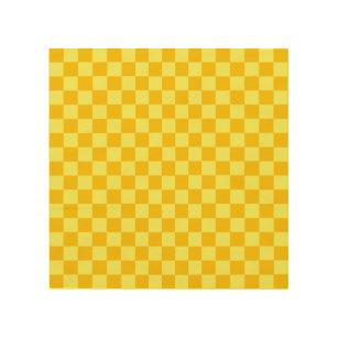 checkerboard wood wall art zazzle