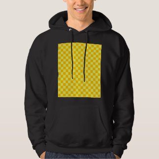 Yellow Combination Classic Checkerboard Hoodie