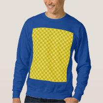 Yellow Combination Classic Checkerboard Sweatshirt