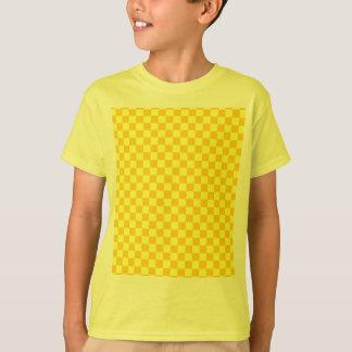 Yellow Combination Classic Checkerboard T-Shirt