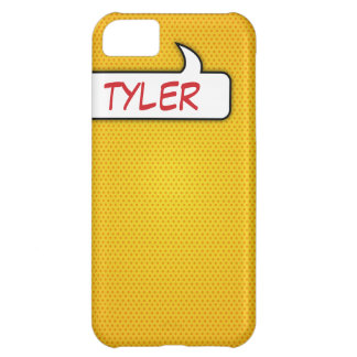 Yellow Comic Book iPhone Case