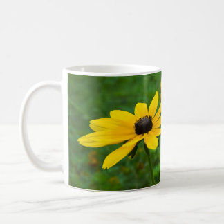 Yellow cone-flower mug