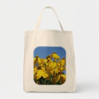 Yellow Coneflowers Floral Nature Tote Bag