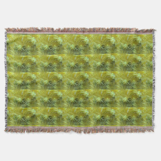 Yellow Coral Reef Throw