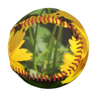 Yellow Coreopsis Baseball