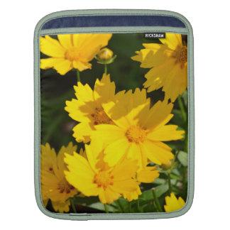 Yellow Coreopsis Sleeve For iPads