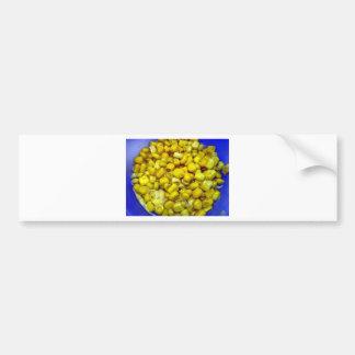 Yellow Corn Bumper Sticker