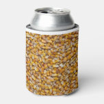 Yellow Corn Can Cooler at Zazzle
