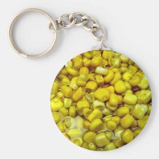 Yellow Corn Key Chain