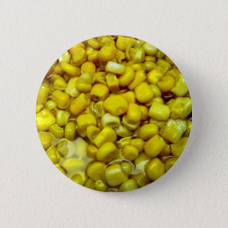 Yellow Corn Pinback Button