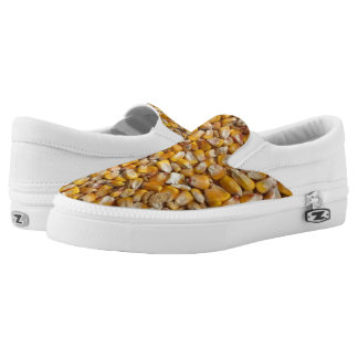 Yellow corn Slip-On sneakers