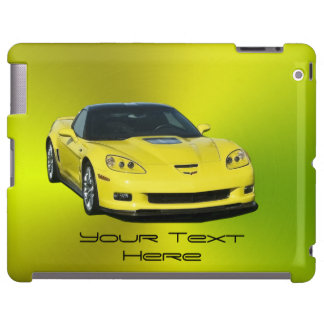 Yellow Corvette Ipad Barely There Case