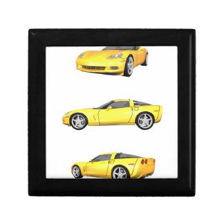 Yellow Corvette: Jewelry Box
