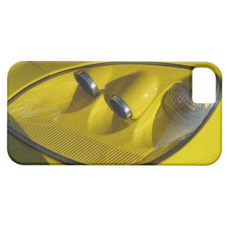 Yellow Corvette Z06 Headlight Close-up iPhone 5 Case