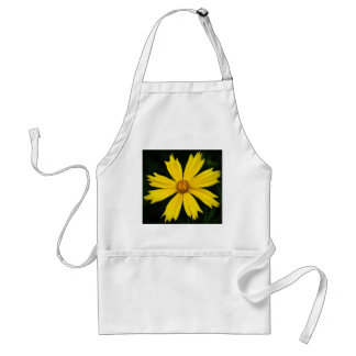 Yellow Cosmos Flower Close-up Adult Apron