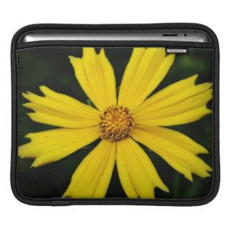 Yellow Cosmos Flower Close-up iPad Sleeve