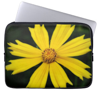 Yellow Cosmos Flower Close-up Laptop Sleeve