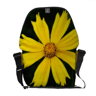 Yellow Cosmos Flower Close-up Commuter Bags