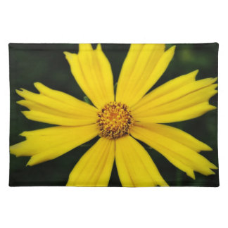 Yellow Cosmos Flower Close-up Placemat