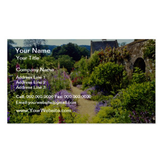 Yellow Cotswold garden flowers Double-Sided Standard Business Cards (Pack Of 100)