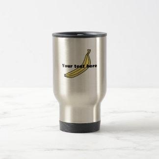 Yellow country banana coffee mug