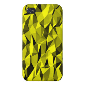 yellow creased texture iPhone 4 covers