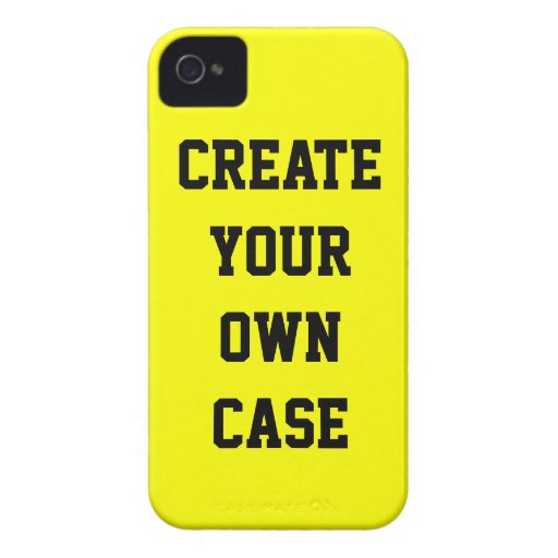 Yellow Create Your Own Case Iphone 4 Covers Zazzle